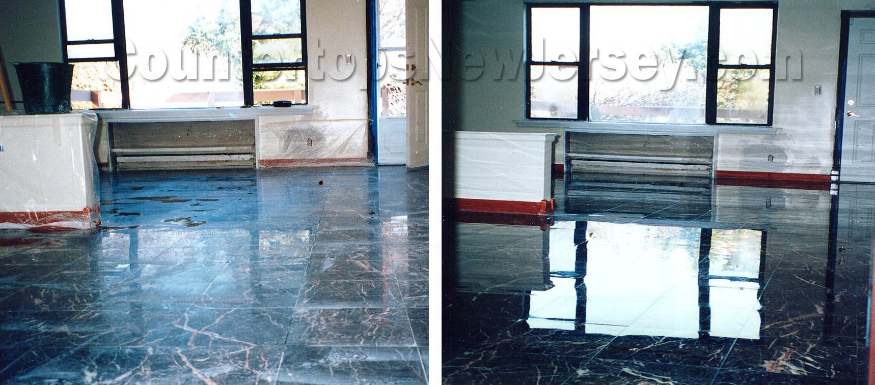 Before & After Marble Polishing NJ