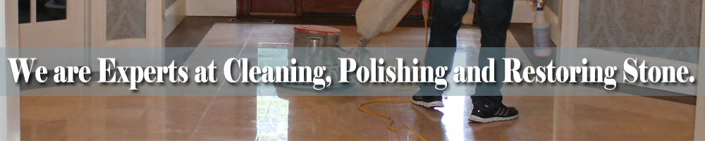 We are Experts at Cleaning- Polishing and Restoring Stone in Deal NJ