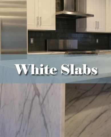 White Marble countertop in New Jersey