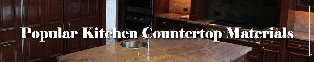 Favorite Kitchen Countertop Materials