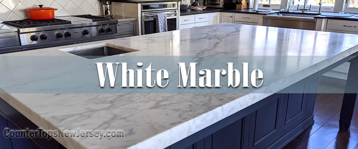 White Marble Countertop Slabs